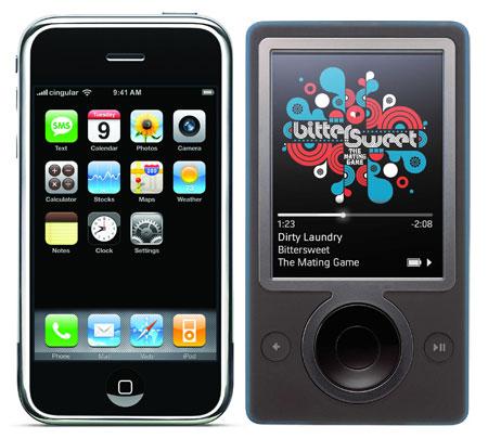 Iphone Zune-450